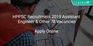 HPPSC Recruitment 2019 Assistant Engineer & Other 78 Vacancies