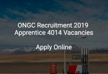 ONGC Recruitment 2019 Apprentice 4014 Vacancies