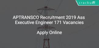 APTRANSCO Recruitment 2019 Ass Executive Engineer 171 Vacancies