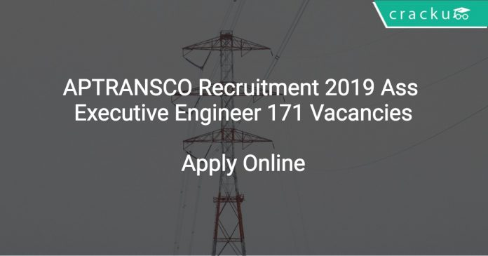 APTRANSCO Recruitment 2019 Ass Executive Engineer 171 Vacancies