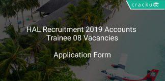 HAL Recruitment 2019 Accounts Trainee 08 Vacancies