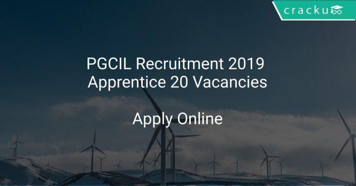 PGCIL Recruitment 2019 Apprentice 20 Vacancies