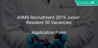 AIIMS Recruitment 2019 Junior Resident 50 Vacancies