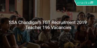 SSA Chandigarh TGT Recruitment 2019