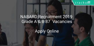 NABARD Recruitment 2019 Grade A & B 87 Vacancies
