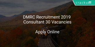 DMRC Recruitment 2019 Consultant 30 Vacancies