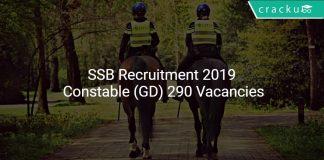 SSB Recruitment 2019 Constable