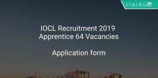IOCL Recruitment 2019 Apprentice 64 Vacancies