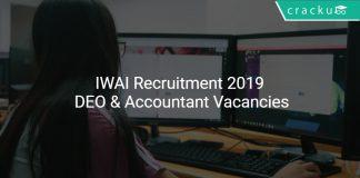 IWAI Recruitment 2019 Apply DEO & Accountant Vacancies