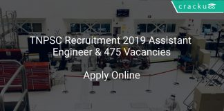 TNPSC Recruitment 2019 Assistant Engineer & 475 Vacancies