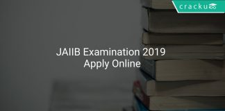 JAIIB Examination 2019 Apply Online