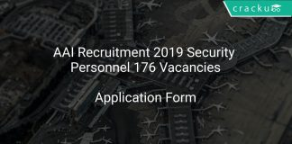 AAI Recruitment 2019 Security Personnel 176 Vacancies