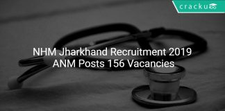 NHM Jharkhand Recruitment 2019 ANM Posts 156 Vacancies