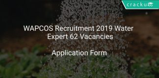 WAPCOS Recruitment 2019 Water Supply Expert 62 Vacancies