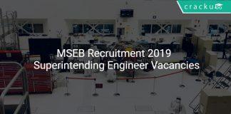 MSEB Recruitment 2019 Superintending Engineer Vacancies