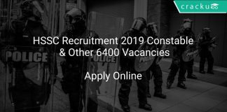HSSC Recruitment 2019 Constable & Other 6400 Vacancies