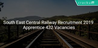 South East Central Railway Recruitment 2019 Apprentice 432 Vacancies