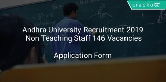Andhra University Recruitment 2019 Non Teaching Staff 146 Vacancies