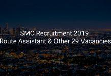Surat Municipal Corporation Recruitment 2019 Route Assistant & Other 29 Vacancies