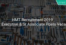 HMT Recruitment 2019 Apply Executive & Sr Associate Posts Vacancies