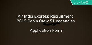 Air India Express Recruitment 2019 Cabin Crew 51 Vacancies