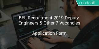 BEL Recruitment 2019 Deputy Engineers & Other 7 Vacancies