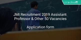 JMI Recruitment 2019 Assistant Professor & Other 50 Vacancies