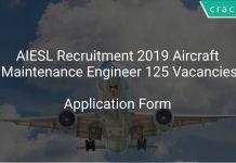 AIESL Recruitment 2019 Aircraft Maintenance Engineer 125 Vacancies