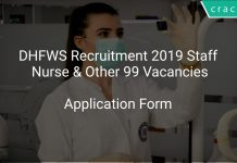 DHFWS Recruitment 2019 Staff Nurse & Other 99 Vacancies