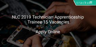 NLC 2019 Technician Apprenticeship Trainee 15 Vacancies