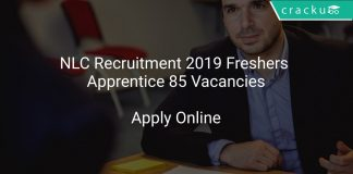 NLC Recruitment 2019 Freshers Apprentice 85 Vacancies