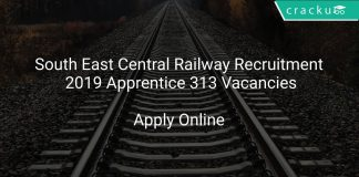 South East Central Railway Recruitment 2019 Apprentice 313 Vacancies