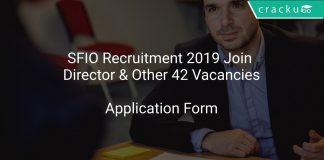 SFIO Recruitment 2019 Join Director & Other 42 Vacancies
