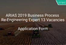 ARIAS 2019 Business Process Re-Engineering Expert 13 Vacancies