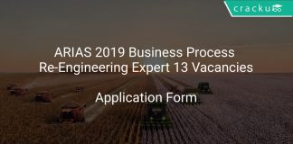 ARIAS 2019 Business Process Re-Engineering Expert 13 Vacancies