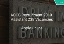 KCCB Recruitment 2019 Assistant 238 Vacancies