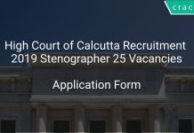 High Court of Calcutta Recruitment 2019 Stenographer 25 Vacancies