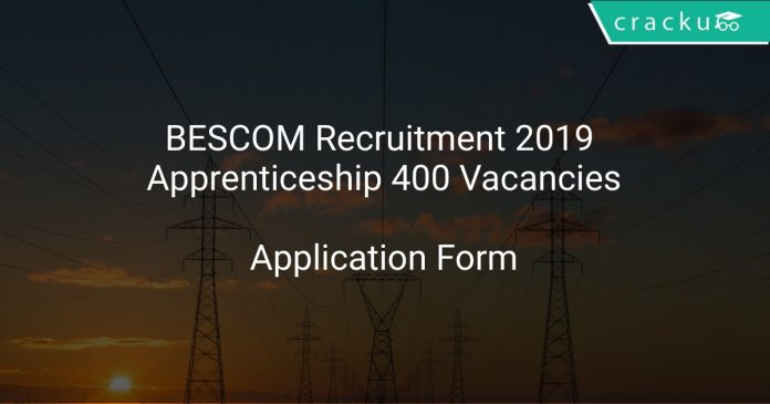 BESCOM Recruitment 2019 Apprenticeship 400 Vacancies