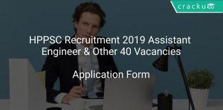 HPPSC Recruitment 2019 Assistant Engineer & Other 40 Vacancies
