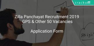 Zilla Panchayat Recruitment 2019 GPS & Other 50 Vacancies