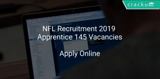 NFL Recruitment 2019 Apprentice 145 Vacancies