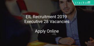 EIL Recruitment 2019 Executive 28 Vacancies