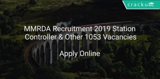MMRDA Recruitment 2019 Station Controller & Other 1053 Vacancies
