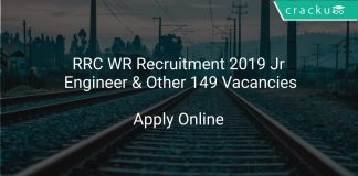 RRC WR Recruitment 2019 Jr Engineer & Other 149 Vacancies