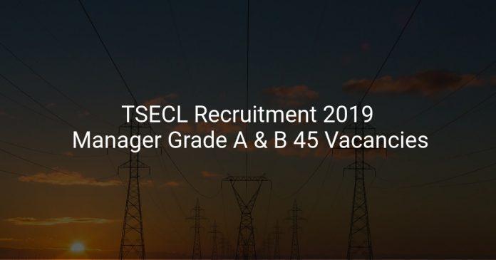 TSECL Recruitment 2019