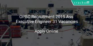 OPSC Recruitment 2019 Ass Executive Engineer 31 Vacancies
