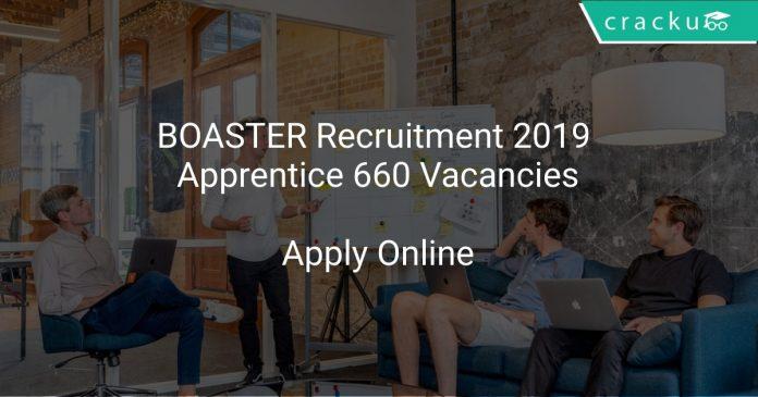 BOATSR Recruitment 2019 Apprentice 660 Vacancies