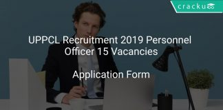 UPPCL Recruitment 2019 Personnel Officer 15 Vacancies