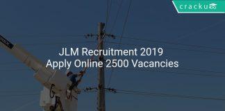 JLM Recruitment 2019