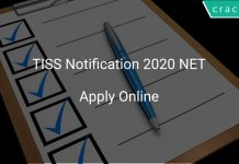 TISS NET 2020 Notification